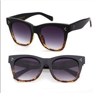 Accessories - Tortoise Shell Oversized Sunglasses